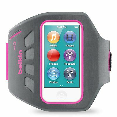EaseFit Armband for iPod nano 7th Gen (Pink) Nano Running Workout Exercise NEW