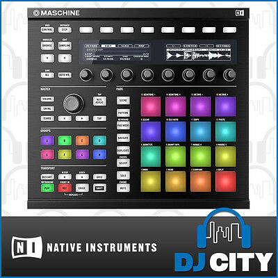 Native Instruments Maschine MK2 Black Drum & Groove Studio Controller
