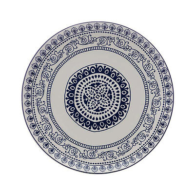 NEW Maxwell & Williams Blue Antico Round Platter 31cm (RRP $35)