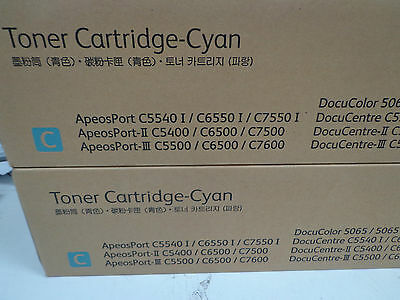 Fuji Xerox CT200569 Toner Cartridge Cyan