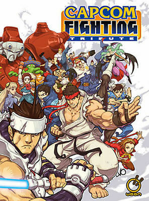 SDCC 2015 Udon Exclusive CAPCOM FIGHTING TRIBUTE CONVENTION EXCLUSIVE HARDCOVER
