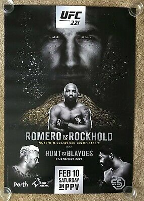 Official WEC 41 - Mike Brown vs Urijah Faber 2 Poster 27x39 (Near Mint)