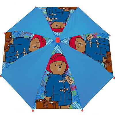 NEW OFFICIAL Paddington Bear Boys / Girls / Kids Umbrella / Brolly