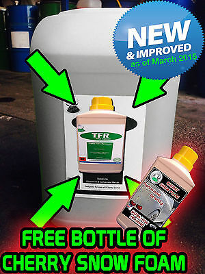 TRAFFIC FILM REMOVER TFR  WASH 500ml makes 25L drum not included. FREE SNOWFOAM