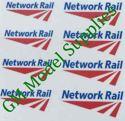 00 1:76 Waterslide Transfers Code 3 Network Rail Logos