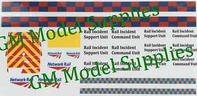 00 1:76 Waterslide transfers Code 3 Network Rail- Mercedes Sprinter Van