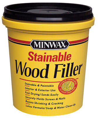 Minwax 42853 Stainable Wood Filler-16OZ STAINABLE WD FILLER