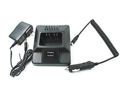 Rapid Charger for MOTOROLA NTN8923 XTS3000  HT1000+DC Adapter Cigarette Cable