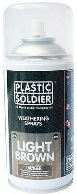 Plastic Soldier - Weathering Spray Light Brown