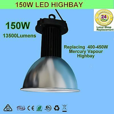 150W LED High Bay light for Factory Warehouse-MW LED Driver & Cree led chip