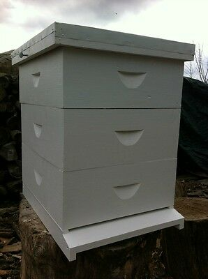 Beehive: 10 frame Langstroth Beehive w/o frames