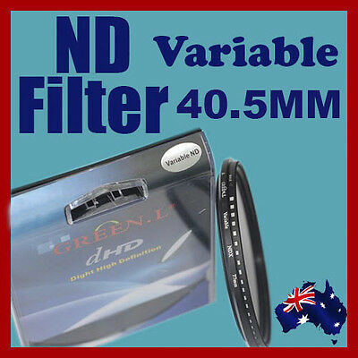 40.5mm Neutral Density ND filter adjustable variable ND2 to ND400 OZ stock