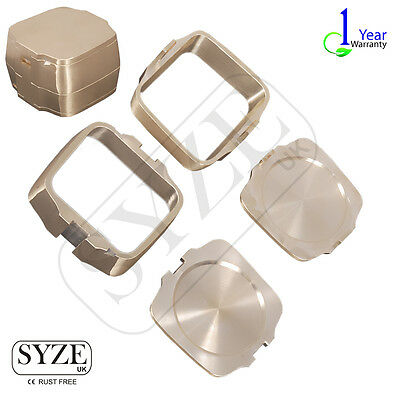 SYZE Dental Flask 100% Brass Instruments Lab Equipment Hydraulic Denture Flask