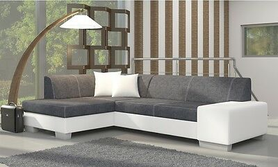 Corner Sofa Fabian with Bed function Corner Couch Sofa Couch Sofa bed 01531