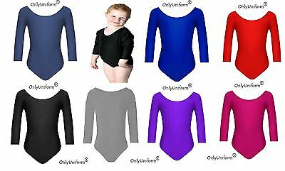 Only Uniform Girls Ballet Dance Gymnastics Leotards Stretch Lycra Leotard