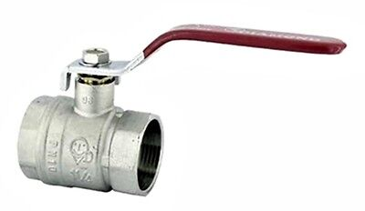 "Red handle Ball Valve F/F 1/2"" - 3/4"" - 1"" BSP Female Thread"