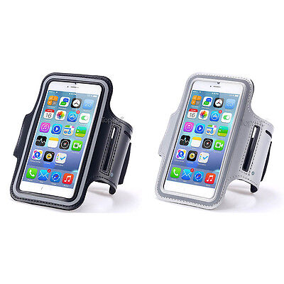 Lot 2 Brassards Sport Telephone Noir + Silver Pour Apple Iphone 6 6S