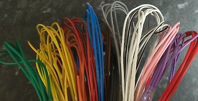THINWALL AUTOMOTIVE 0.5mm 12V AUTO CABLE 11A CAR ENGINE LOOM WIRE - 28 COLOURS