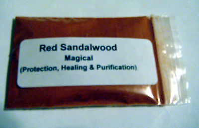 Red Sandlewood Powder Herb Protection, Healing, & Purification