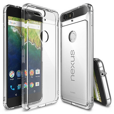 Rearth Phone Case Huawei Nexus 6P Foil +Dust cover] Ringke Fusion Case clear