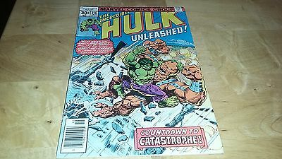 1977 MARVEL Comics THE INCREDIBLE HULK #216 Great condition