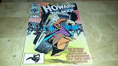 1986 MARVEL Comics 25th HOWARD THE DUCK #1 Great condition 3 Issue Limited