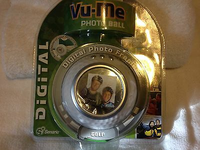 2007 Digital Photo Ball Frame  Vu-Me,golf,new-Sealed