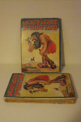 Walt Disney: MICKEY MOUSE IN GIANT LAND Book 1934 IN INGLESE