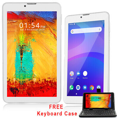White 7.0-inch Phablet Tablet PC 3G Smart Phone WiFi GSM Unlocked- Free Keyboard
