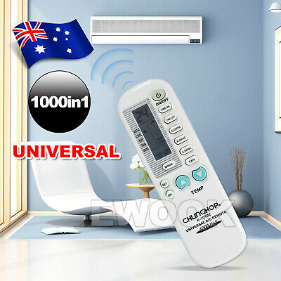 Universal Air Conditioner Remote Control AC A/C For DAIKIN FUJITSU PANASONIC
