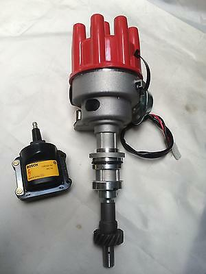 Ford Cleveland 302-351- 429-460 Electronic Distributor with bosch coil