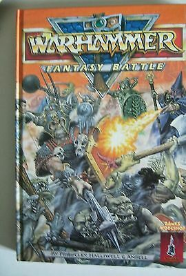 core rule rules book 3E 3rd edition games workshop warhammer fantasy battle book
