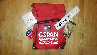 2012 Republican National Convention C-SPAN Gift Bag PRESIDENTIAL Goodies Romney