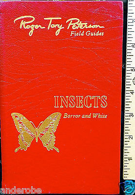 Fine Leatherbound INSECTS Borror/White 1970/1st/PETERSON Guides/EASTON Cricket *