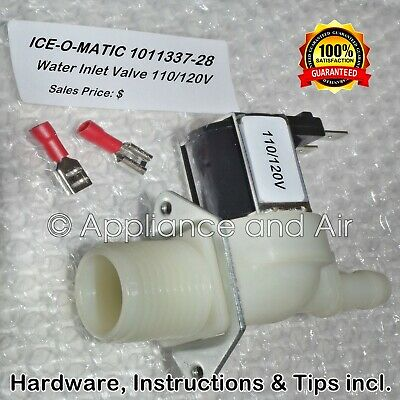 ICE-O-MATIC 011337-28 Water Solenoid Inlet Valve 120V FREE / Fast Shipping