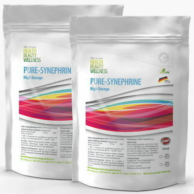 2x 250 Tabletten PURE-SYNEPHRIN - Hardcore Fatburner, Ephedrin-Alternative