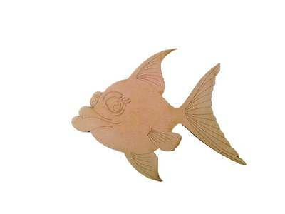 Fish - Hot Lips - Wooden Cut-out 290x230mm
