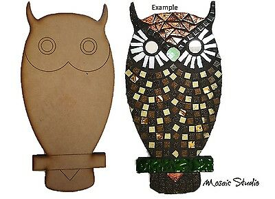 Owl- Wooden Cut-out 300x150mm
