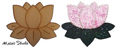 Lotus Flower- Wooden Cut-out - 350x300mm