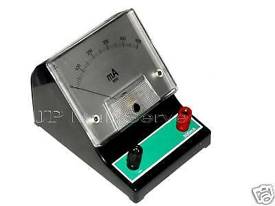 "500mA DC Bench top Amp Meter Ammeter Milliamp 3.25"" Face"
