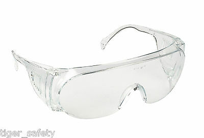 Proforce FP12 Clear Protective Safety Coverspecs Eyewear Glasses Eyeglasses PPE