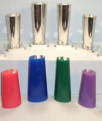 Tapered OVAL Metal Candle Mold (You Select Size and Height)