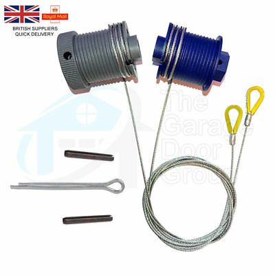 Cardale, Wickes Wessex B&Q Apex CD PRO Safelift Cables Drums, Garage Door Spares