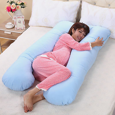 Cozy Comfort Large U Shaped Contoured Pregnancy Nursing Maternity Body Pillow