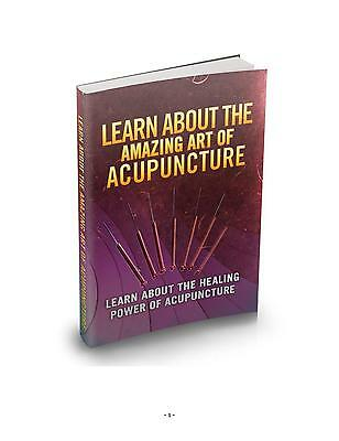 The Amazing Art Of Acupuncture eBook on CD