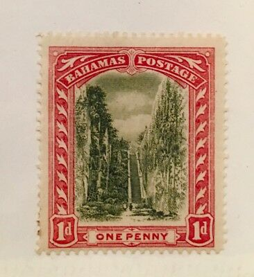 Bahamas Scott 33 Queens Staircase 1 Pence Mint