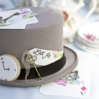 TRULY ALICE in Wonderland Tea/Birthday/Wedding Party KEYS & TAGS PLACE CARDS