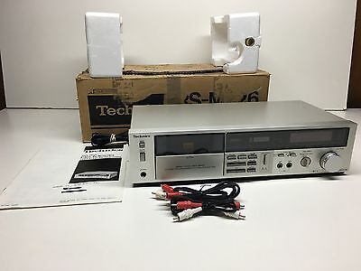 Technics RS-M226 Stereo Cassette Deck 1 Touch Record/Rewind Auto Play/Auto Stop
