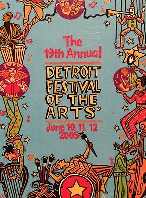 The 19th Annual Detroit Festival Of The Arts June 10,11,12, 2005 Magnet