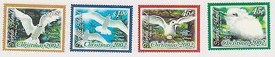 (OY-80) 2002 Norfolk Island 4set Christmas 45c to$1.50 SG815-18 MUH